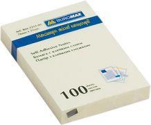 Блок для нотаток 51х76мм, 100арк., жовтий BM.2311-01 (1/12/144/1)