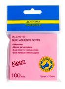 Блок для нотаток NEON 76х76мм, 100арк., асорті BM.2312-98 (1/12/216/1)