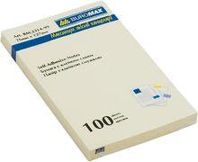 Блок для нотаток 76x127мм, 100арк., жовтий BM.2314-01 (1/12/144/1)