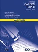 Папір копіювальний 210x297мм, 100 арк., синій BM.2700 (1/5/50/210)