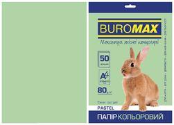 Папір кольоровий А4, 80г/м2, PASTEL, св.-зелений, 50л. BM.2721250-15 (1/60)