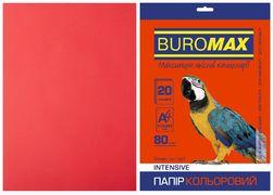 Папір кольоровий А4, 80г/м2, INTENSIV, червоний, 20л. BM.2721320-05 (1/150)