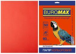 Папір кольоровий А4, 80г/м2, INTENSIV, червоний, 50л. BM.2721350-05 (1/60)
