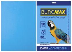 Папір кольоровий А4, 80г/м2, INTENSIV, св.-синій, 50л. BM.2721350-30 (1/60)