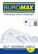 Етикетки з клейким шаром 4шт., 105х148,5мм (100 аркушів) BM.2816 (1/10/500)