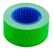 Цінник 22*12мм (500шт, 6м), прямокутний, зовнішня намотка, зелений BM.282101-04 (1/10/200)