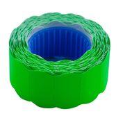 Цінник 22*12мм (500шт, 6м), фігурний, зовнішня намотка, зелений BM.282201-04 (1/10/200)
