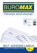 Етикетки з клейким шаром 24шт., 70х37,1мм (100 аркушів) BM.2840 (1/10/500)