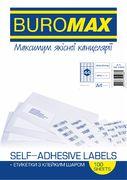 Етикетки з клейким шаром 44шт., 48,3х25,4мм (100 аркушів) BM.2855 (1/10/500)