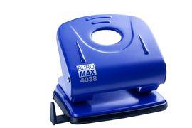 Діркопробивач металевий (до 30арк.), синій BM.4038-02 (1/6/60)