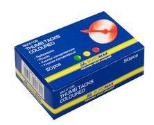 Кнопки кольорові JOBMAX, 50шт. BM.5106 (1/10/500)