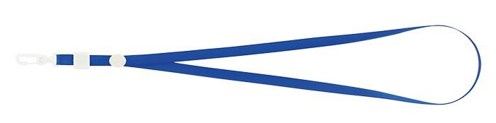 Шнурок з карабіном, синій BM.5425-02 (1/50/2000/)