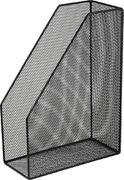 Лоток для паперів вертикальний 80x230x300мм, металевий, чорний BM.6260-01 (1/12/240)