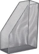 Лоток для паперів вертикальний 80x230x300мм, металевий, срібло BM.6260-24 (1/12/240)