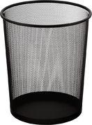 Ко для паперів, 19 л, круглий, металевий, чорний Buromax BM.6270-01 (1/12/144)