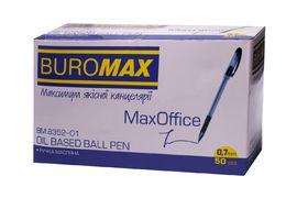 Ручка масляна MaxOFFICE, синя, 2 шт., в блістері BM.8352-01-2 (1/20/240)
