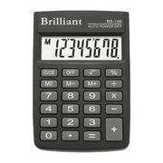 /Калькулятор кишеньковий BS-100  8р., 1-пит BS-100 (1/50)