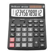 Калькулятор Brilliant BS-2222, 12 розрядів BS-2222 (1/10/40)