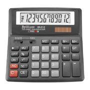 Калькулятор Brilliant BS-312, 12 розрядів BS-312 (1/15/60)