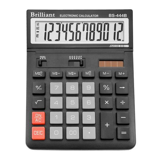 Калькулятор Brilliant BS-444В, 12 розрядів BS-444B (1/10)