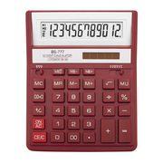 /Калькулятор BS-777RD 12р., 2-пит, червоний BS-777RD (1/10/40)