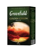 /Чай чорний GOLDEN CEYLON, 100г,  Greenfield, лист gf.106288 (14)