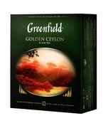 /Чай чорний GOLDEN CEYLON 2гх100шт. Greenfield , пакет gf.106441 (9)