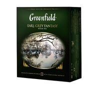 /Чай чорний EARL GREY FANTASY 2гх100шт. Greenfield , пакет gf.106444 (9)