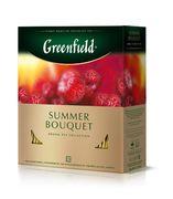 /Чай трав'яний Summer Bouquet 2rp.x100шт, Greenfield, пакет gf.106451 (1/9)