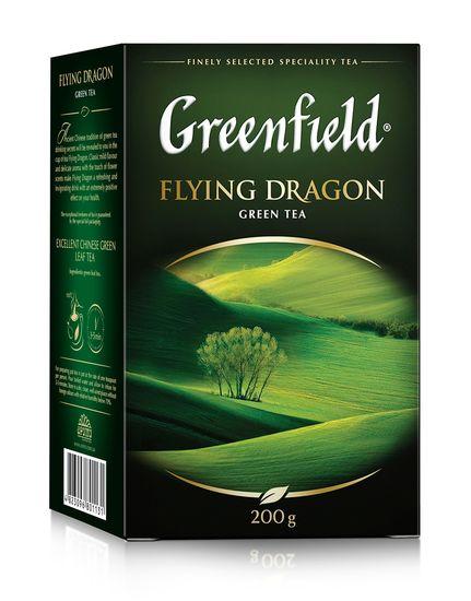 Чай зелёный 200г, лист, Flying Dragon, GREENFIELD gf.106464 (1/8)