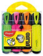 Текст-маркер FLUO PEPS Classic, набір 4 шт., бістер, асорті MP.742547 (1/12/180)