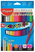 Олівці кольорові COLOR PEPS Classic, 36 кольорів MP.832017 (1/12/48)