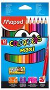 Олівці кольорові COLOR PEPS Jumbo, 12 кольорів MP.834010 (1/12/108)