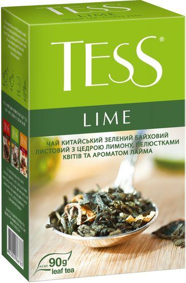 Чай зелений 90г, пакет, Lime, TESS prpt.105169 (1/15)