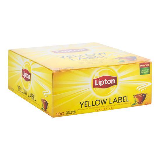 Чай черный Sunshine YL, 100х2г,  Lipton, пакет prpt.200014 (12)