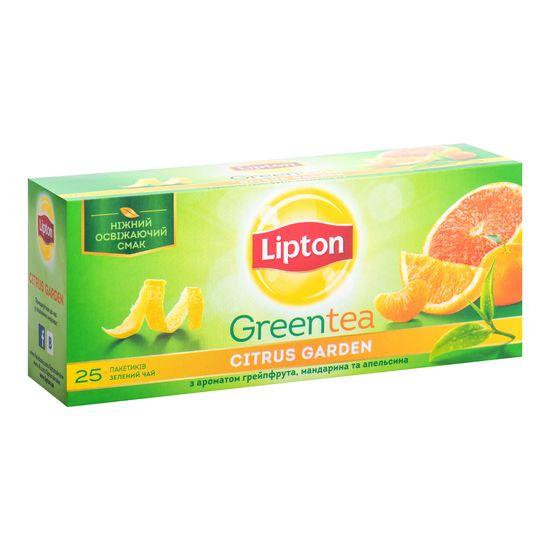 Чай зеленый CITRUS GARDEN GREEN  2г х 25,  Lipton, пакет prpt.200533 (24)