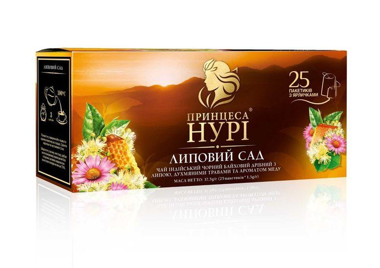 Чай чёрный 1.5г*25 пакет, Липовый Сад, ПРИНЦЕССА НУРИ prtr.103014 (1/24)