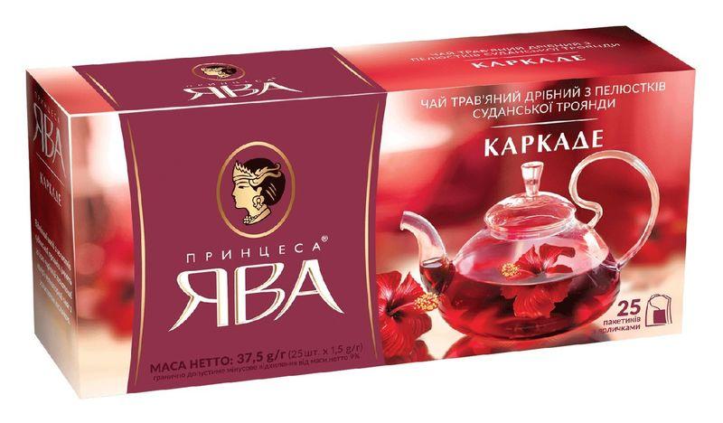 Чай каркаде 1.5г*25 пакет, ПРИНЦЕССА ЯВА рy.104018 (1/24)