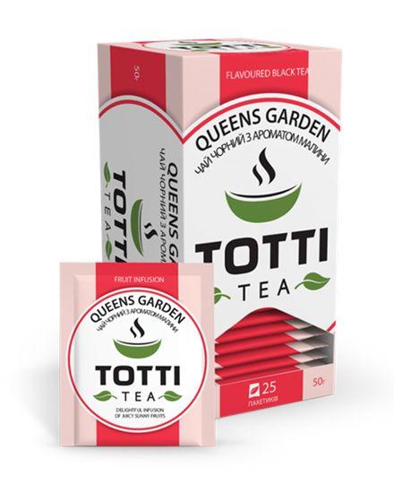 Чай фруктовый TOTTI Tea «Королевський сад», пакетированный, 2г*25*32 tt.51503 (1/32)