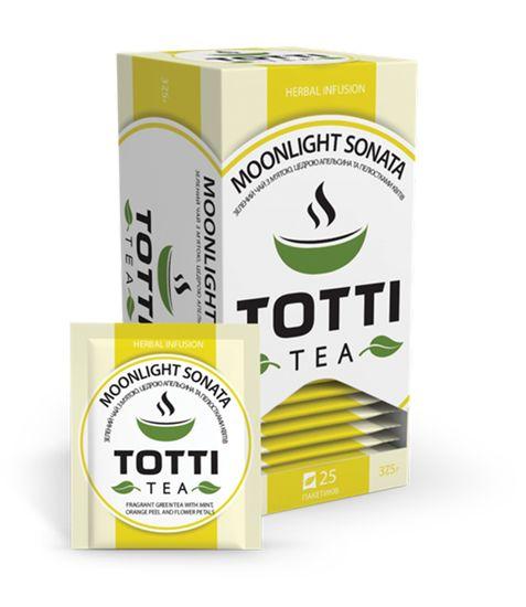 Чай травянной TOTTI Tea «Місячна Соната», пакетированный, 1,5г*25*32 tt.51506 (1/32)