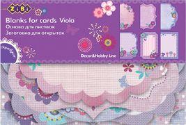 Основа для листівок Viola 10.2*15.3см ZB.18203-AF (1/50/250)