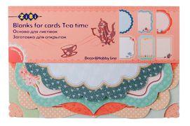 Основа для листівок Tea time 10.2*15.3см ZB.18207-AF (1/50/250)