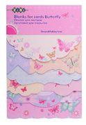 Основа для листівок Butterfly 10.2*15.3см ZB.18215-AF (1/50/250)