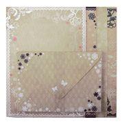 Основа для листівок з кольоровими конвертами Vintage 10.5*14.8см ZB.18221-AD (1/10/100)