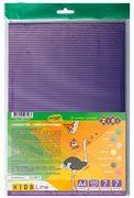 #Гофрокартон прокрашеный, матовый,  А4, 7цв., 7л., для квилинга ZB.1974 (1/50/700)