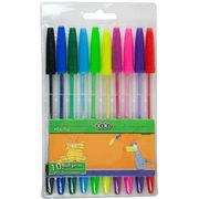 Набір із 10-х кулькових ручок, 10 кол. ZB.2012 (1/40/320)