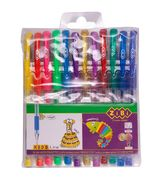 Набір з 12-ти гелевих ручок NEON+GLITTER, 12 кольорів ZB.2204-99 (1/40/320)