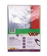 Обкладинка для зошитів і підручників А4 з клапаном, PVC ZB.4712-99 (1/5/300)