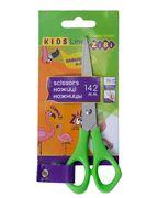 Ножиці дитячі для шульги, 142мм, салатовий ZB.5002-15 (1/12/288)