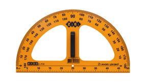 Транспортир TEACHER для шкільної дошки 50 см, жовтий ZB.5659 (1/50)